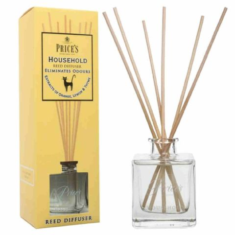 Price's Large Household Wooden Reed Stick Scented Diffuser Jar